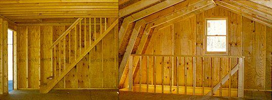 Legend Storage Building Stairs