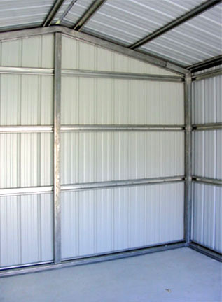 Metal Garages Sheds And Storage Buildings Custom Built