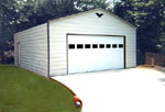 Metal garages, workshops, storage buildings