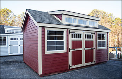 Metro Shed with Transom